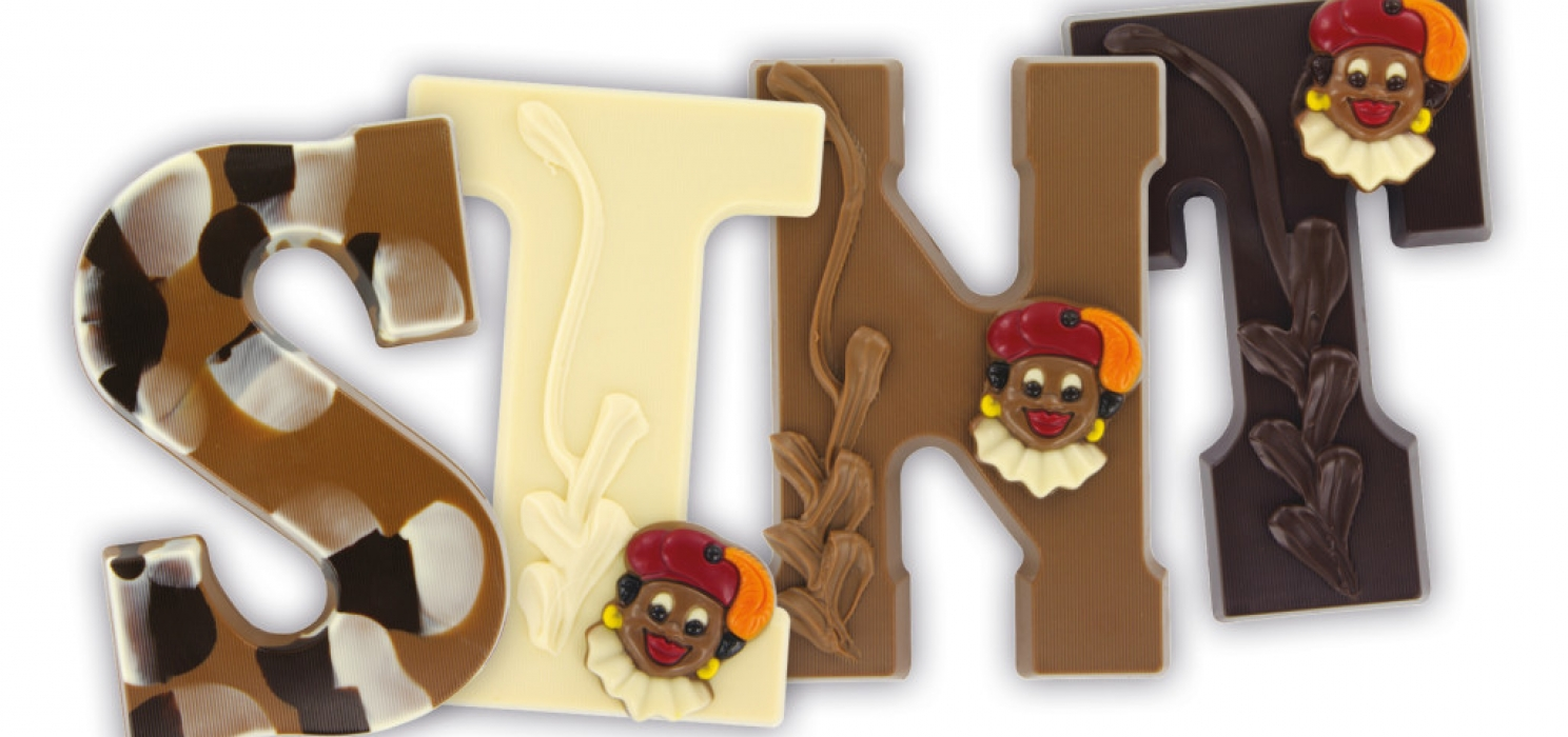 SINT chocoladeletters
